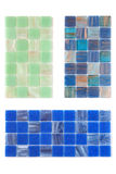 Collection ceramic tile Royalty Free Stock Photos