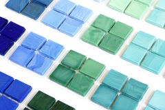 Collection ceramic tile Stock Images