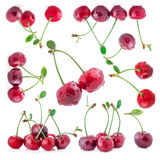 Collection of cherry Stock Photos
