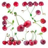 Collection of cherry Stock Photos