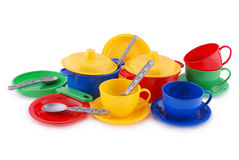Collection of children's ware (Clipping path) Royalty Free Stock Photography