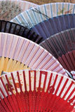 Collection Chinese fans Stock Image