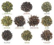 Collection chinoise de thé d'oolong Photo libre de droits