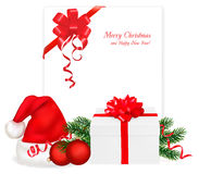 Collection of Chrismas objects. Stock Photo