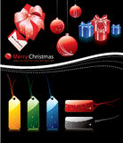 Collection of chrismtas elements Royalty Free Stock Image