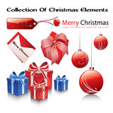 Collection of chrismtas elements Stock Photo