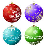 Collection Christmas Bell (vector) Royalty Free Stock Images