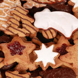 Collection of christmas cookies Stock Photo