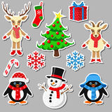 Collection of Christmas elements Stock Photography