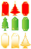 Collection Christmas  labels Stock Photography