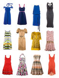 Collection clothes Royalty Free Stock Photography