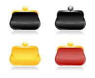 Collection of clutches Royalty Free Stock Image