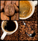 Collection of coffee Royalty Free Stock Photography