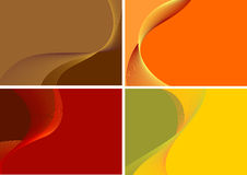 Collection of color background Royalty Free Stock Photos