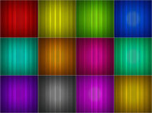 Collection of colorful abstract backgrounds Stock Photos