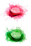 Collection of colorful abstract banners. Stock Photos
