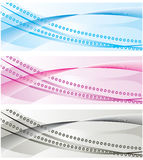The collection of colorful backgrounds Stock Images