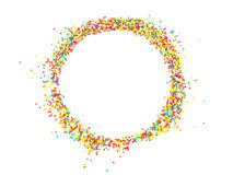 Collection of Colorful Beads Decoration. Collection of Beautiful ColorfulBeads Decoration on Background Stock Image