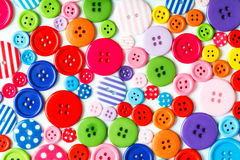 Volorful buttons Stock Images
