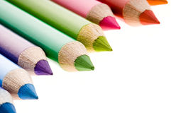 Collection of colorful pencils Stock Image