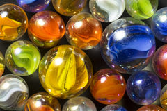 Colorful Ribbon Marbles Stock Images