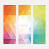 Collection of the 3 colorful web banners . Can be. Used for your design .Vector illustration Royalty Free Stock Photos