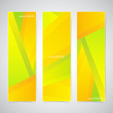 Collection of the 3 colorful web banners . Can be. Used for your design .Vector illustration Royalty Free Stock Photo