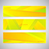 Collection of the 3 colorful web banners . Can be. Used for your design .Vector illustration Royalty Free Stock Photography
