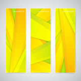 Collection of the 3 colorful web banners . Can be. Used for your design .Vector illustration Royalty Free Stock Images