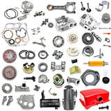 Collection of components power tiller Royalty Free Stock Image