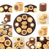 collection cookies Royalty Free Stock Images