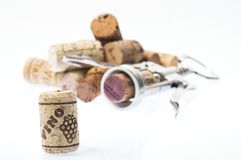 Collection of corks Royalty Free Stock Photos
