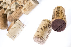 Collection of corks Stock Photo