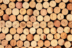 Collection of corks Stock Photos