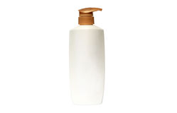 Collection of cream and lotion containers Stock Image