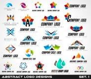 Collection of Creative Logos design for brand identity,  Stock Photos
