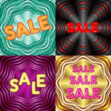 Collection of creative Sale discount promotion Stock Photo