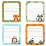 Collection of cute frames. Stock Images