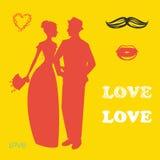 Collection d'accessoires et d'attributs de mariage image stock