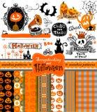 Collection d'album à Halloween Photos libres de droits