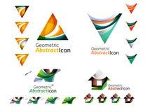 Collection d'emblème d'affaires de lettre Image stock