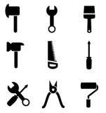 Collection d'ensemble d'icône d'outils Photographie stock libre de droits