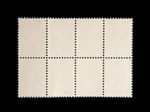 Collection d'estampille blanc Photos stock