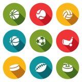 Collection d'icône de sports Images stock