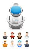 Icône de personnes de profession # 2 Photo stock