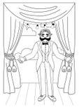 Collection d'illustrations de cirque de vintage illustration libre de droits
