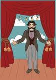 Collection d'illustrations de cirque de vintage illustration de vecteur