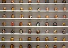 Collection d'oeufs de pâques Images stock