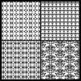 Collection Of Damask Patterns Royalty Free Stock Photo