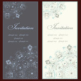 Ensemble d'invitation Photographie stock